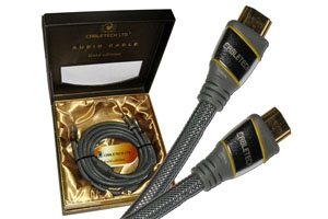 Kabel HDMI-HDMI 1.8m Cabletech Gold Edition